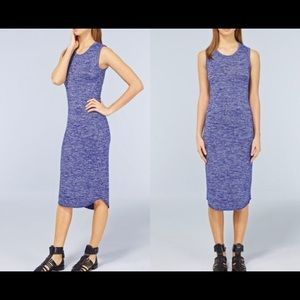 Wilfred bruni dress sz s with low back in blue